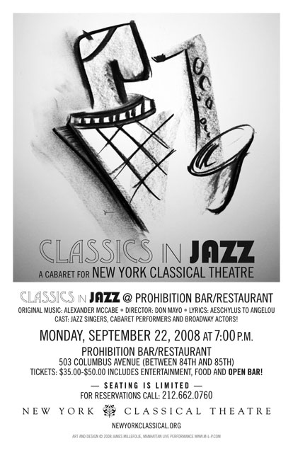 New York Classical Theatre: Classics in Jazz